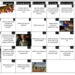November monthly writing prompts – one a day for ten minute starters