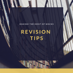 Revising for mocks – a good revision space
